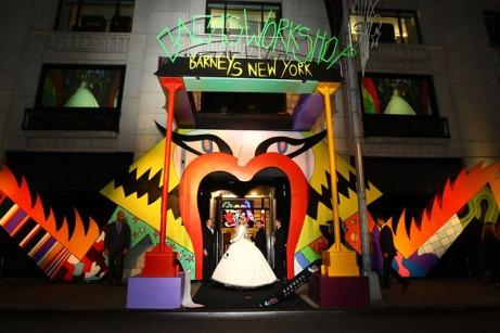 Gaga's Workshop Ribbon Cutting At Barneys New York With Lady Gaga